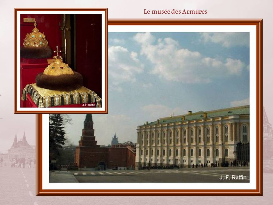 Le Grand Palais fut construit entre 1837 et 1851 pour devenir la résidence des tsars quand ils étaient à Moscou. Il a remplacé un palais baroque.
