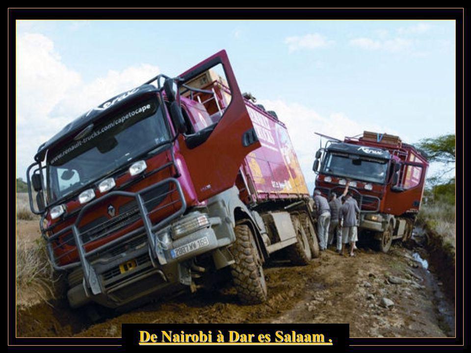 Traversée du parc Naturu-Kenya.