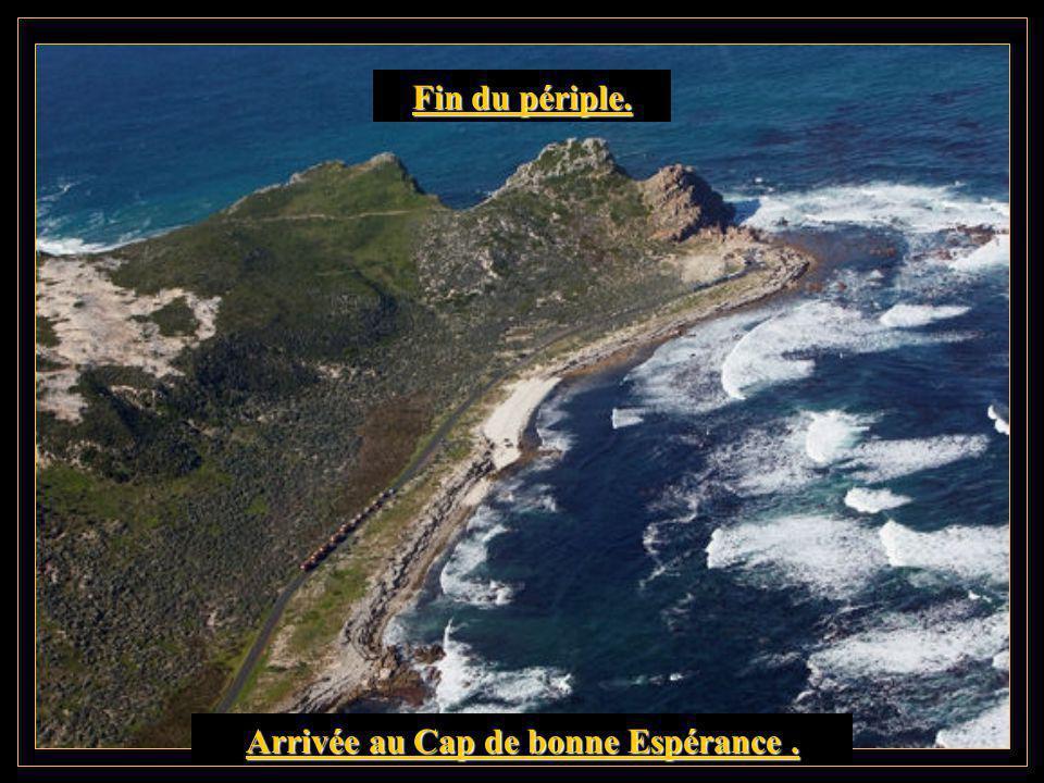 Livingstone au Cap de bonne Espérance. Cinquième et dernière étape.