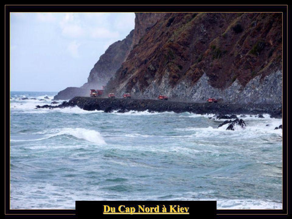 Départ du Cap Nord. Première étape.