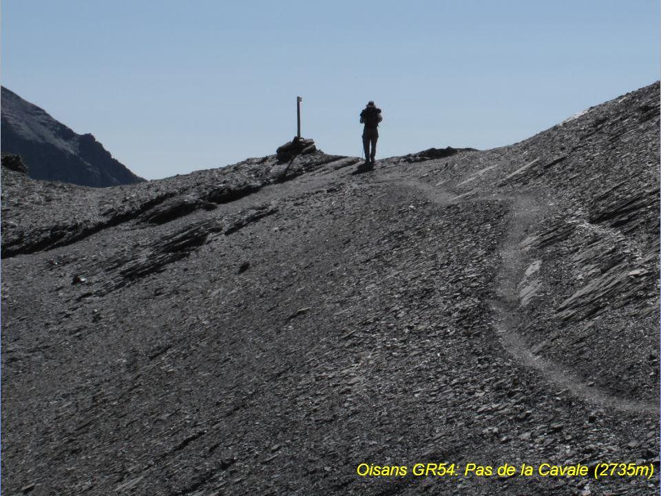 Oisans, glacier de la Meige, depuis la station moyenne du téléphérique de La Grave