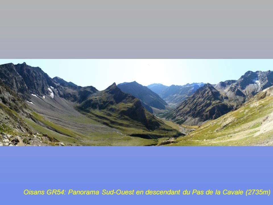 Oisans GR54: Pas de la Cavale (2735m)