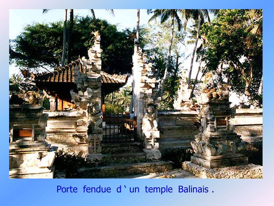 Le temple d Ubud.