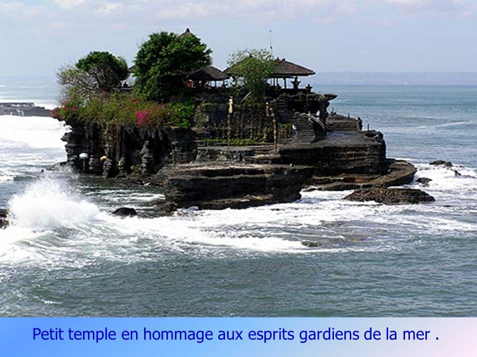 Porte fendue d un temple Balinais.