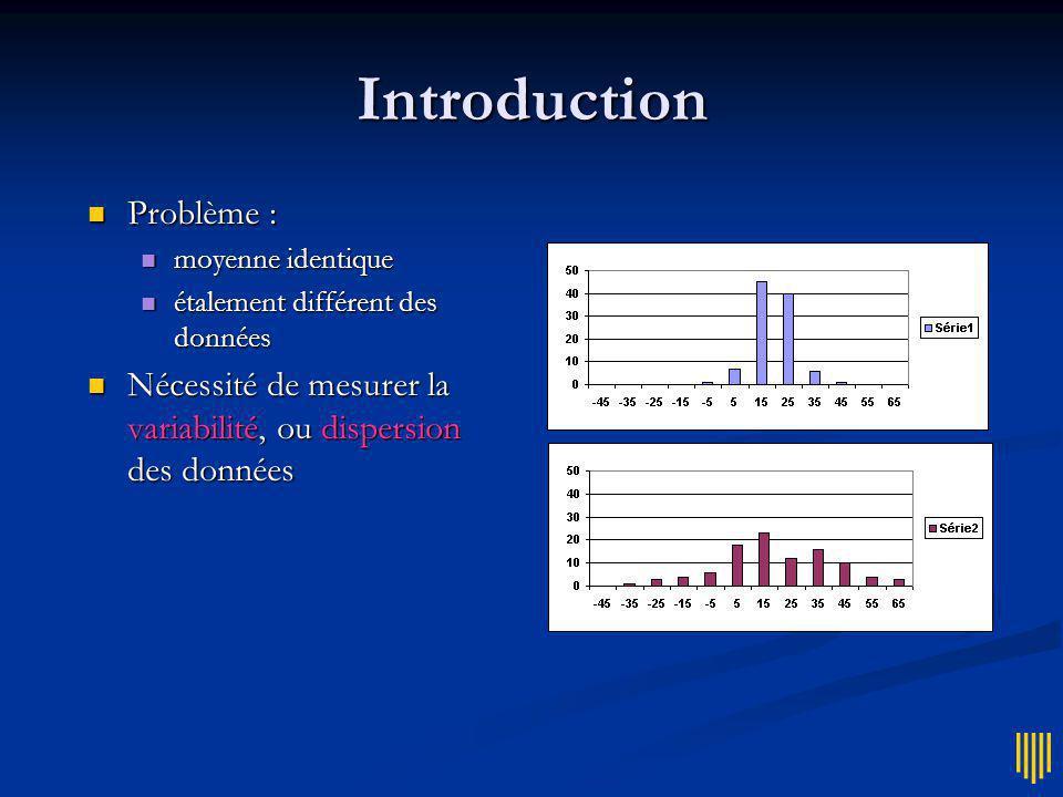 INF L14 Initiation aux statistiques INF L14 Initiation aux statistiques 6 – Variabilité En Technicolor