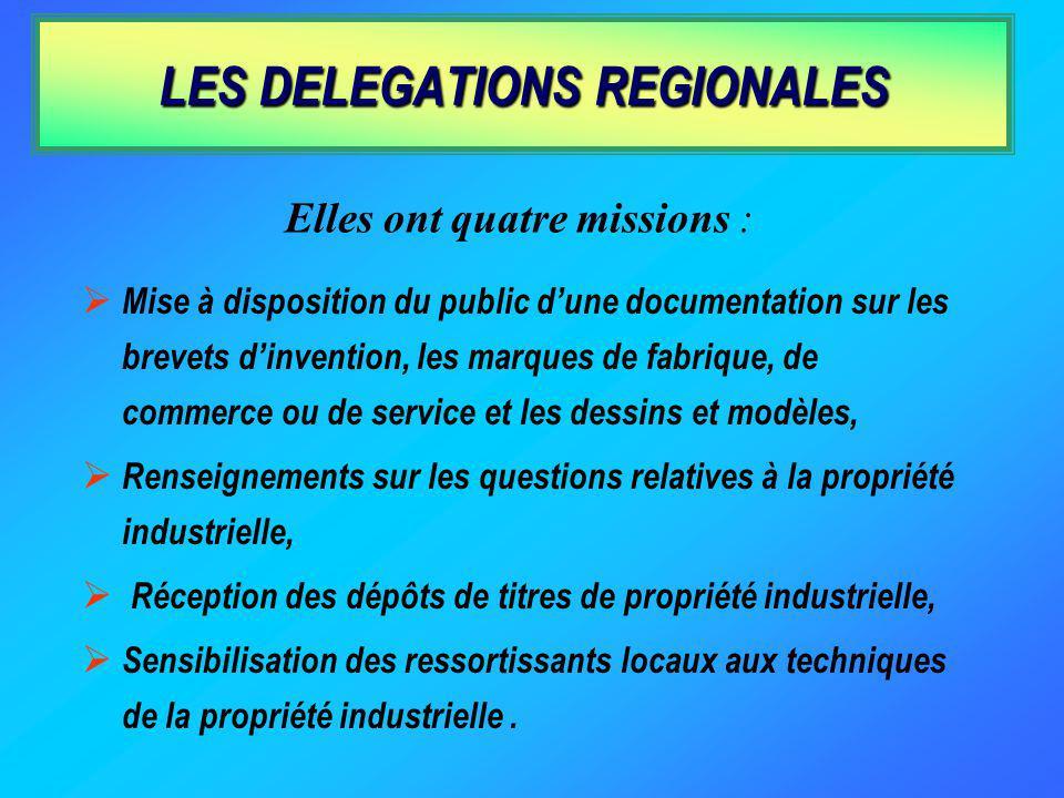 La centralisation et la communication au public des publications françaises et étrangères concernant la propriété industrielle La tenue des registres
