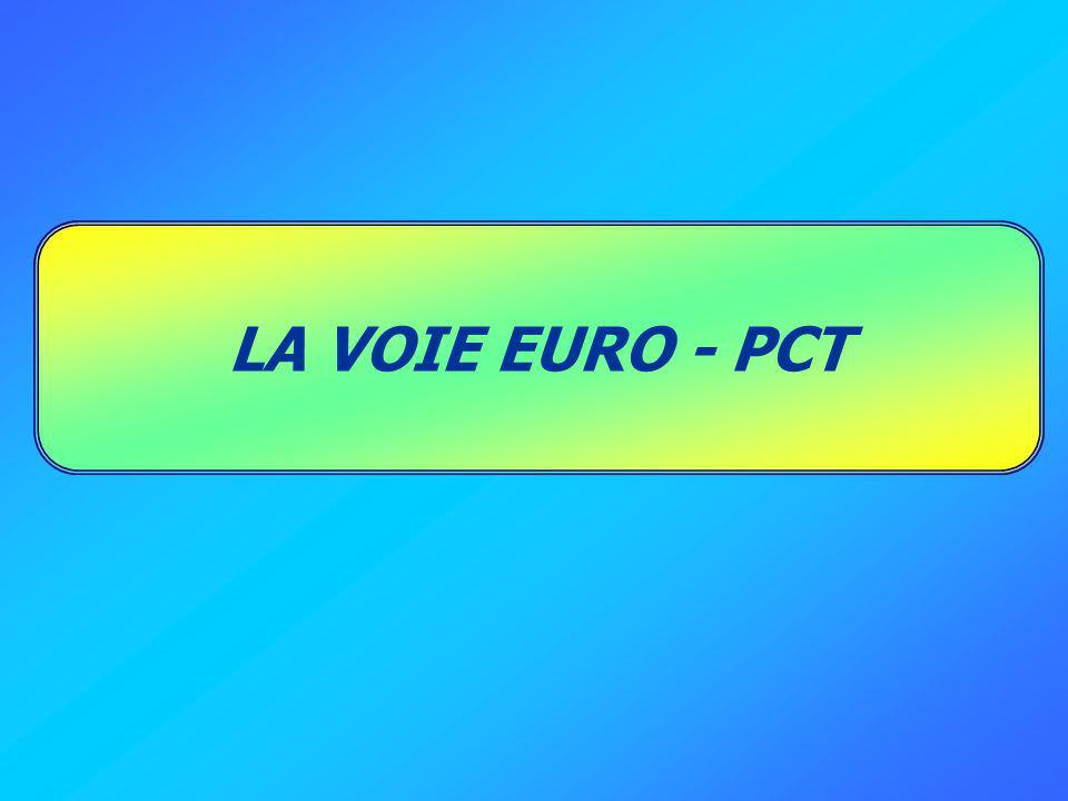 LA VOIE EURO - PCT