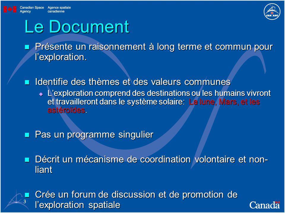 3 Le Document Présente un raisonnement à long terme et commun pour lexploration.