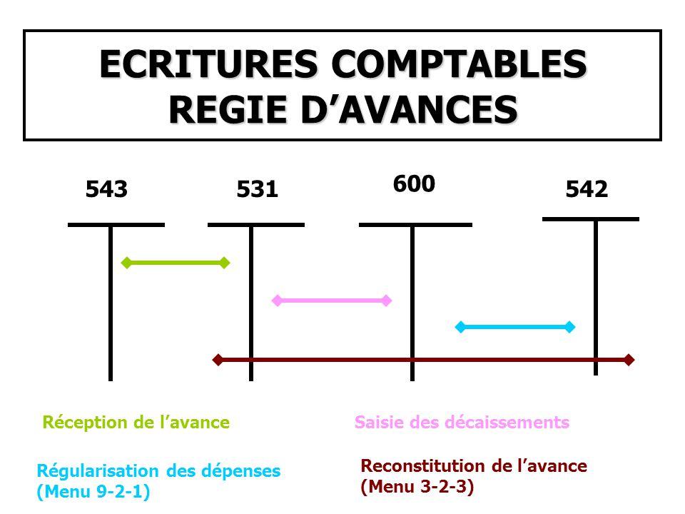 CAS PARTICULIER UTILISATION DE LA NATURE DE RECETTES INDETERMINEE 471700 Saisie de lencaissement 5112 ou 531 Prise en compte des recettes non affectées