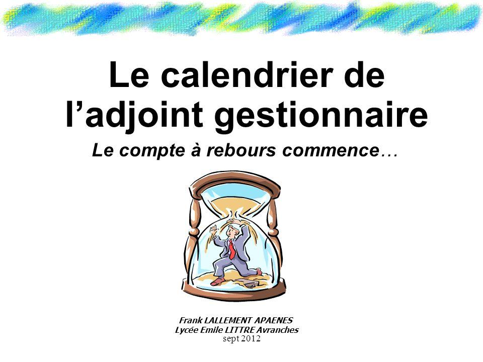La Gestion Administrative sept 2012
