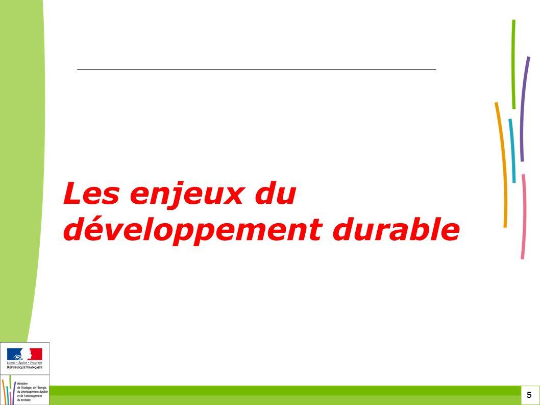 5 5 Les enjeux du développement durable
