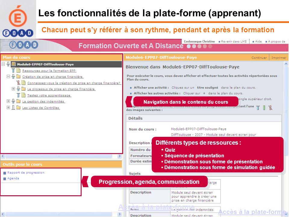 Formation Ouverte et A Distance –Organisation de la formation des tuteurs relais –Exemple de module « seul devant écran » –Quest-ce que la FOAD .