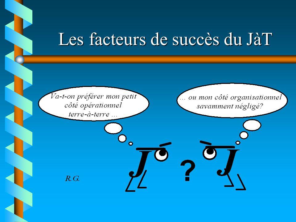 Les facteurs de succès du JàT