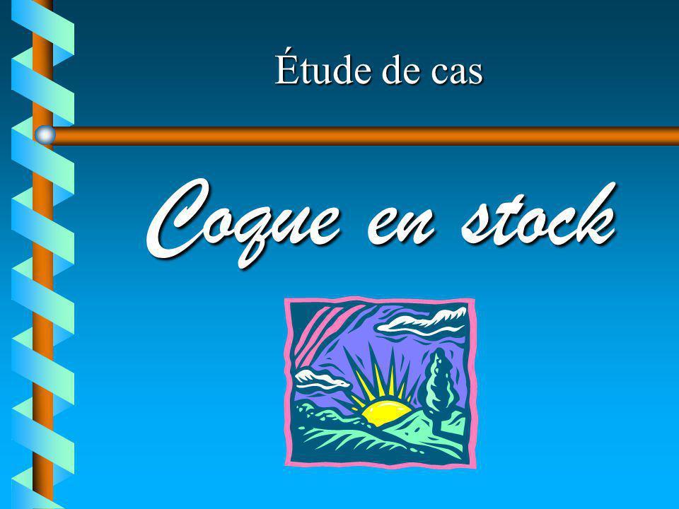 Étude de cas Coque en stock