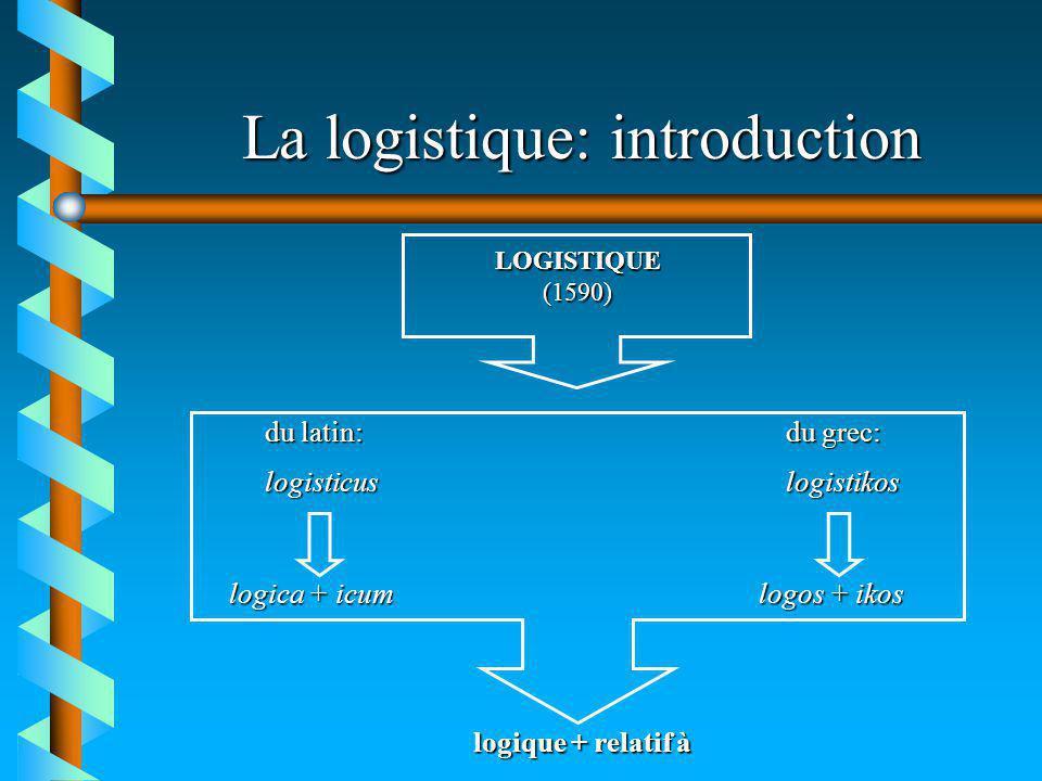 Impact de la logistique sur la gestion dentreprise … 7 Enjeux logistiques dominants (actuels et futurs) æLe service à la clientèle æLes partenariats stratégiques æLa gestion des inventaires
