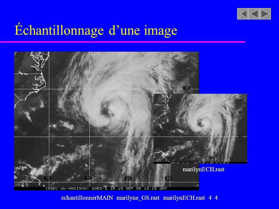 echantillonnerMAIN marilyne_GS.rast marilynECH.rast 4 4 Échantillonnage dune image marilynECH.rast
