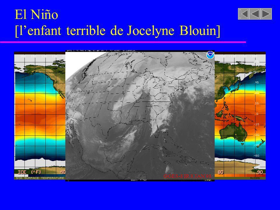 El Niño [lenfant terrible de Jocelyne Blouin] GOES-8 IR 8 JAN 98