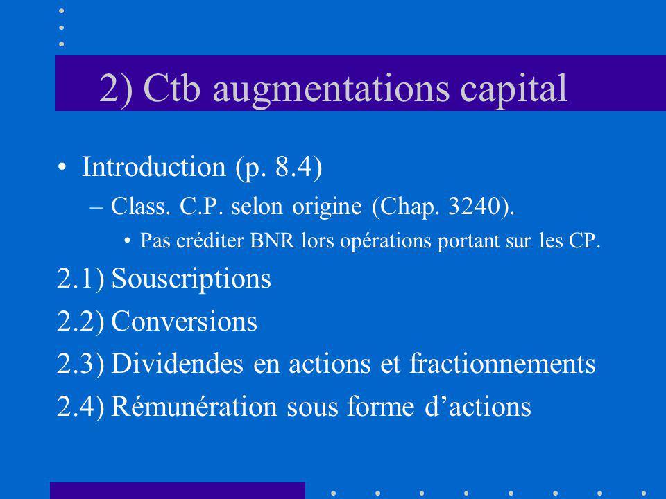 2.4.3) Renseign.à divulguer Chap. 3870 (01): Info.