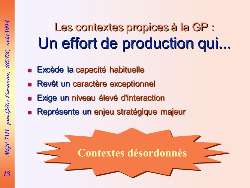 13 MGP-7111 par Gilles Corriveau, UQTR, août 1998.
