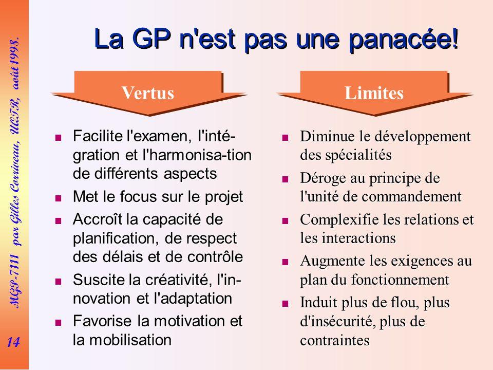 14 MGP-7111 par Gilles Corriveau, UQTR, août 1998.