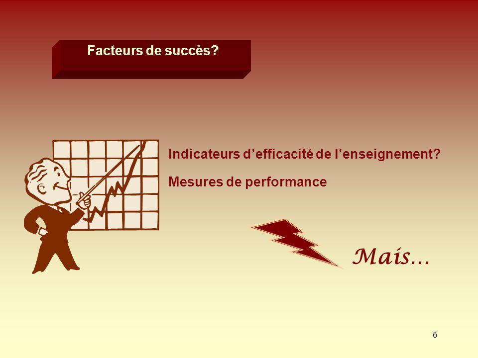 37 Lévaluation devenue indispensable Prise en compte de tous les facteurs susceptibles de contribuer à sa qualité