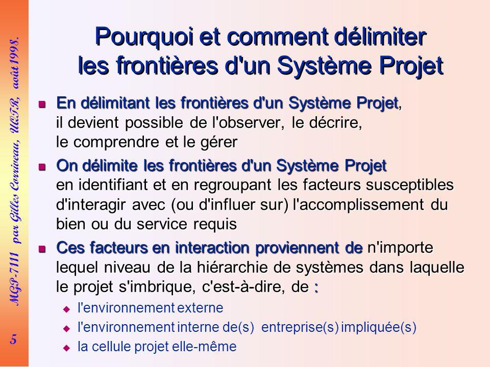 5 MGP-7111 par Gilles Corriveau, UQTR, août 1998.