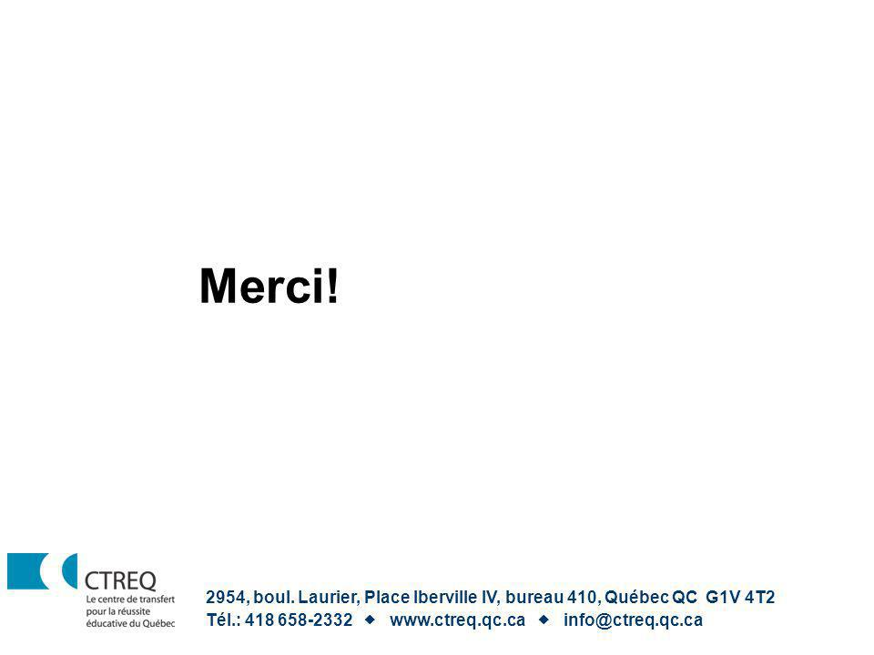 Merci! 2954, boul. Laurier, Place Iberville IV, bureau 410, Québec QC G1V 4T2 Tél.: 418 658-2332 www.ctreq.qc.ca info@ctreq.qc.ca