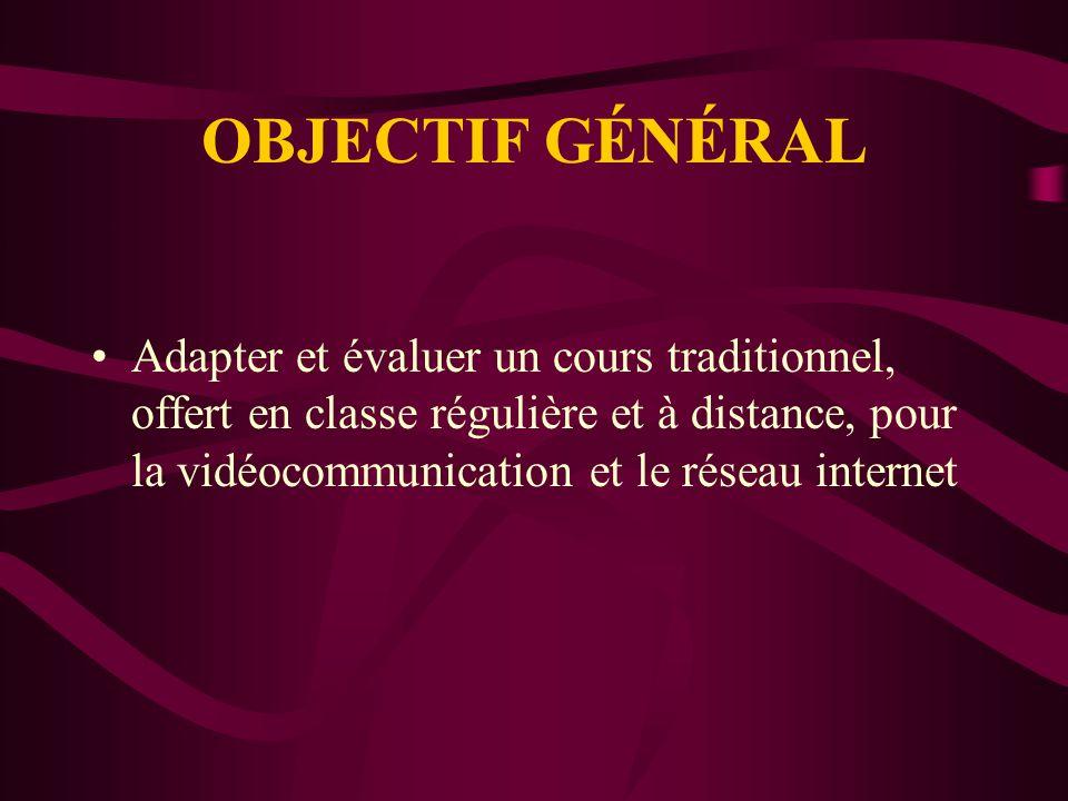 CHRONOLOGIE DE NOTRE EXPERTISE EN TIC (COURS ET RECHERCHE) (3) Depuis 1995, cours en vidéocommunication et quelques cours internet Recherche du BTA (aut.