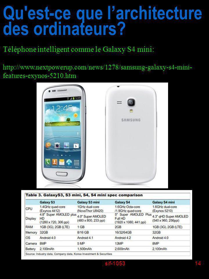 sif-105314 Qu'est-ce que larchitecture des ordinateurs? Téléphone intelligent comme le Galaxy S4 mini: http://www.nextpowerup.com/news/1278/samsung-ga