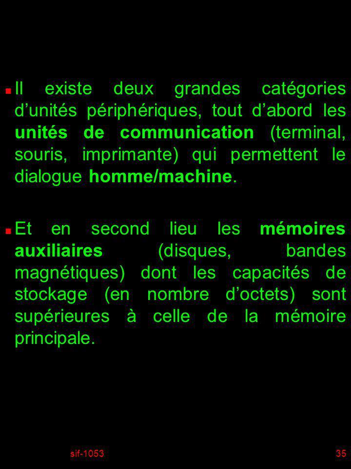 sif-105336 n Il existe également une autre catégorie dunités de communication extrêmement importante, les unités qui permettent les communications machine/machine.