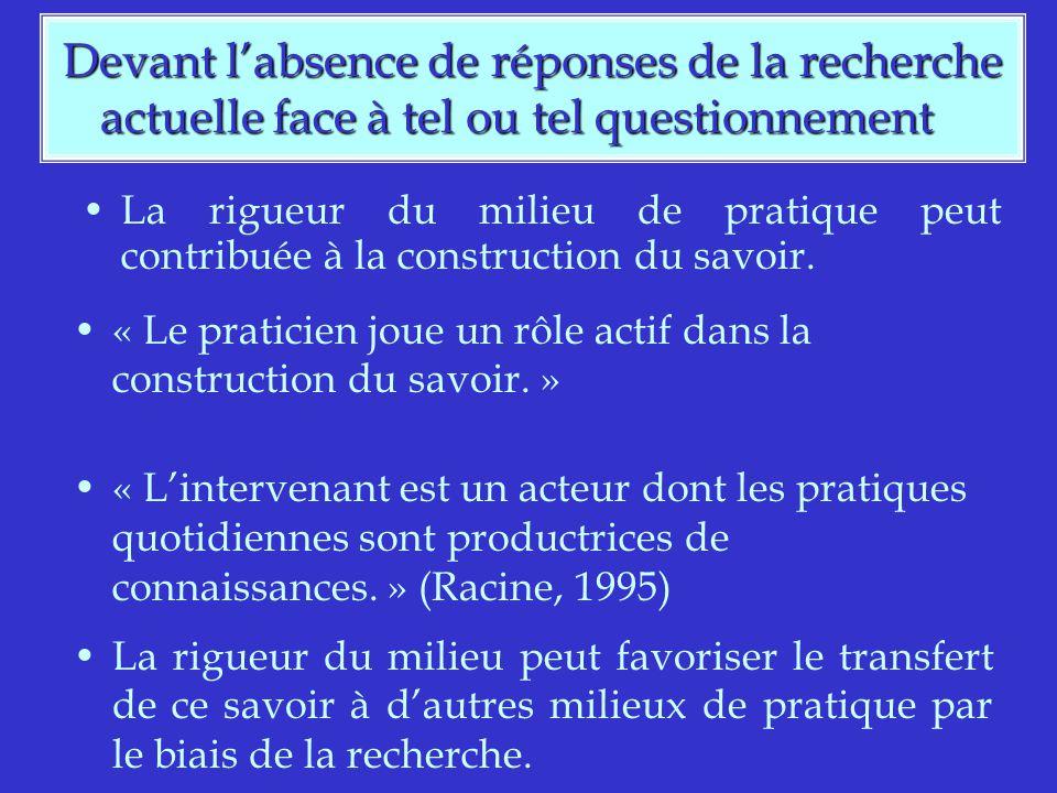 Bouchard, M.& Tremblay, D. (2002).