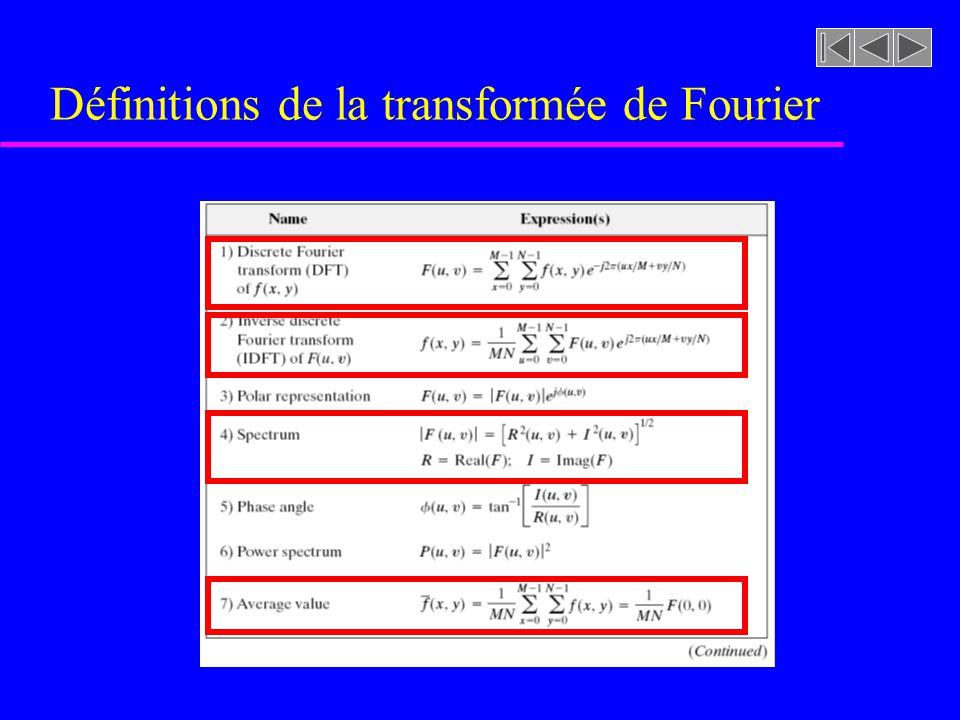 Propriétés IMPORTANTES de la transformée de Fourier