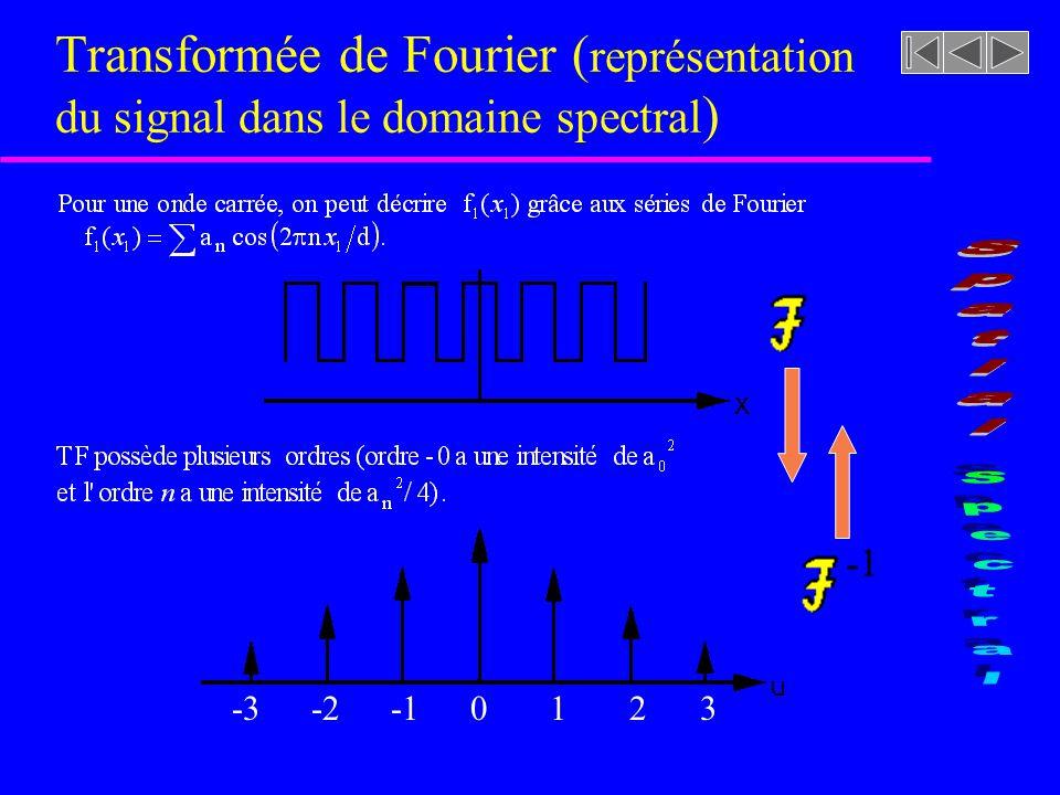 Série de Fourier (synthèse dun signal 1-D)
