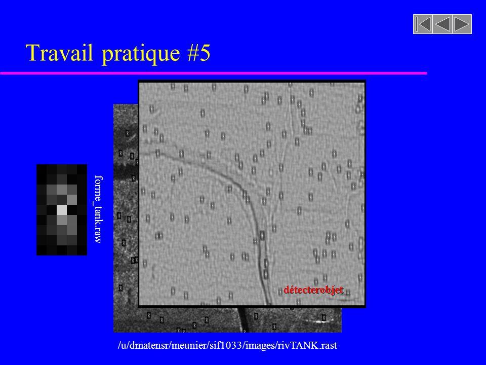 Tomographie (algorithme de rétroprojection arrière) À laide de 128 projections