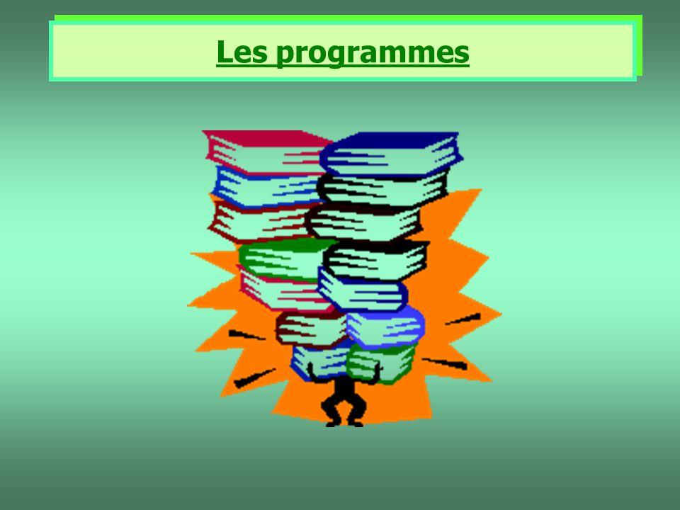 Les programmes