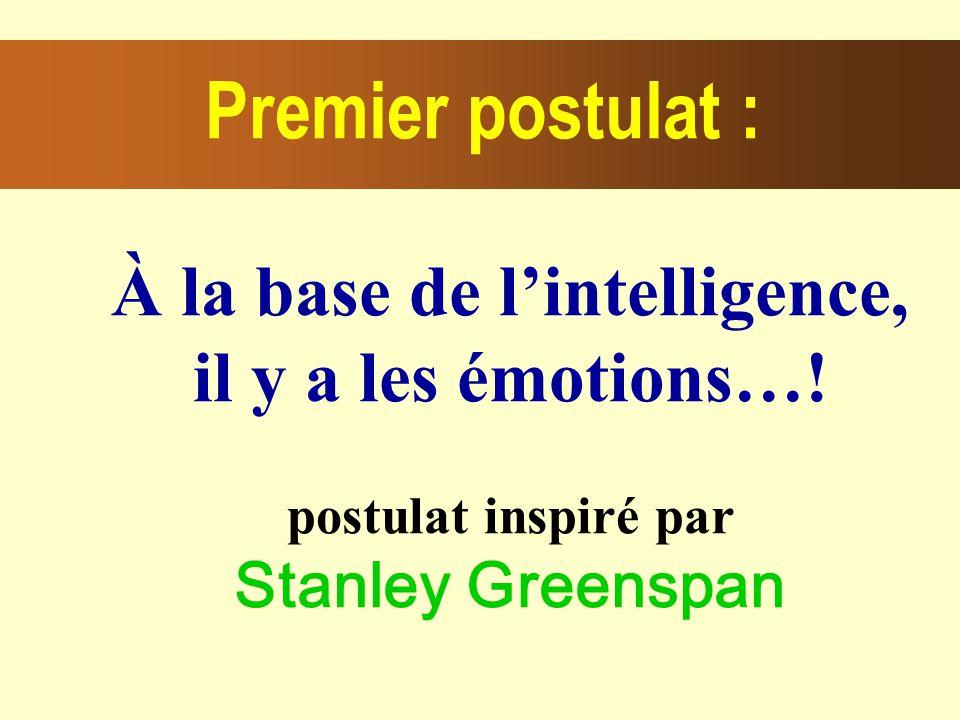 À la base de lintelligence, il y a les émotions….