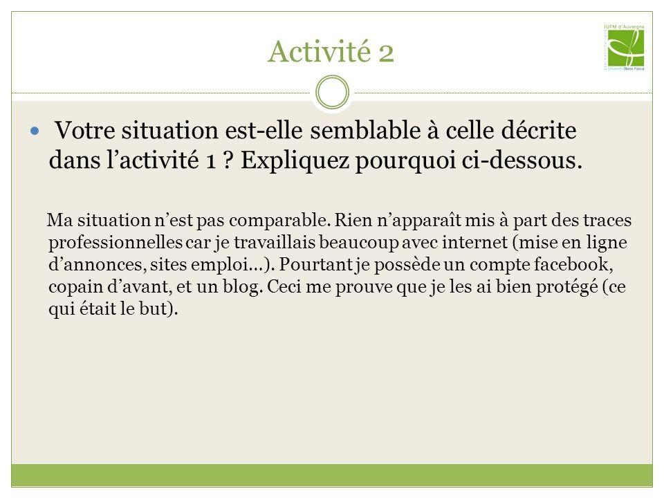 Activité 3 Quels conseils donneriez-vous au professeur auteur du blog suivant : http://profeps01.skyrock.com/ en matière de forme .
