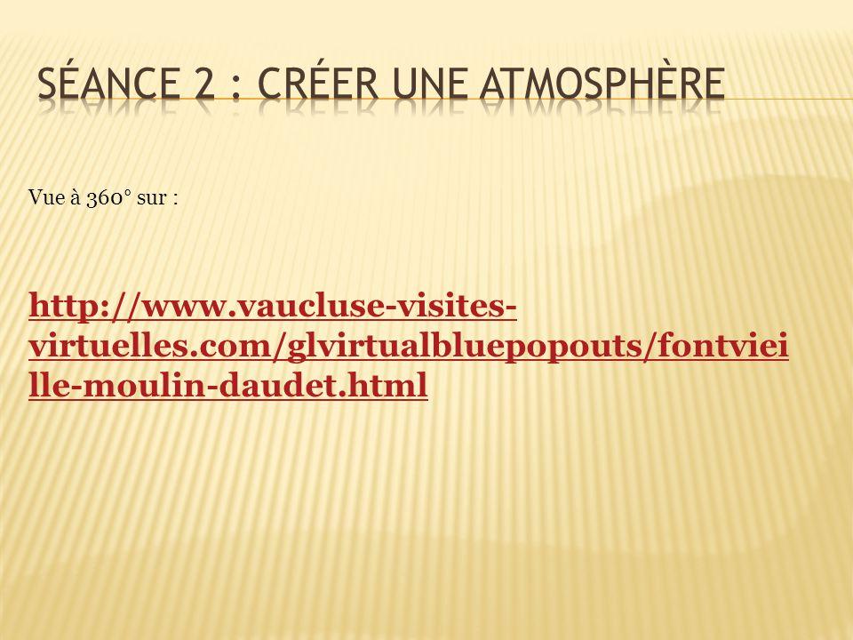 http://www.vaucluse-visites- virtuelles.com/glvirtualbluepopouts/fontviei lle-moulin-daudet.html Vue à 360° sur :
