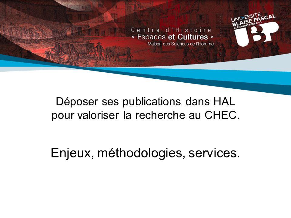 Déposer ses publications dans HAL pour valoriser la recherche au CHEC.
