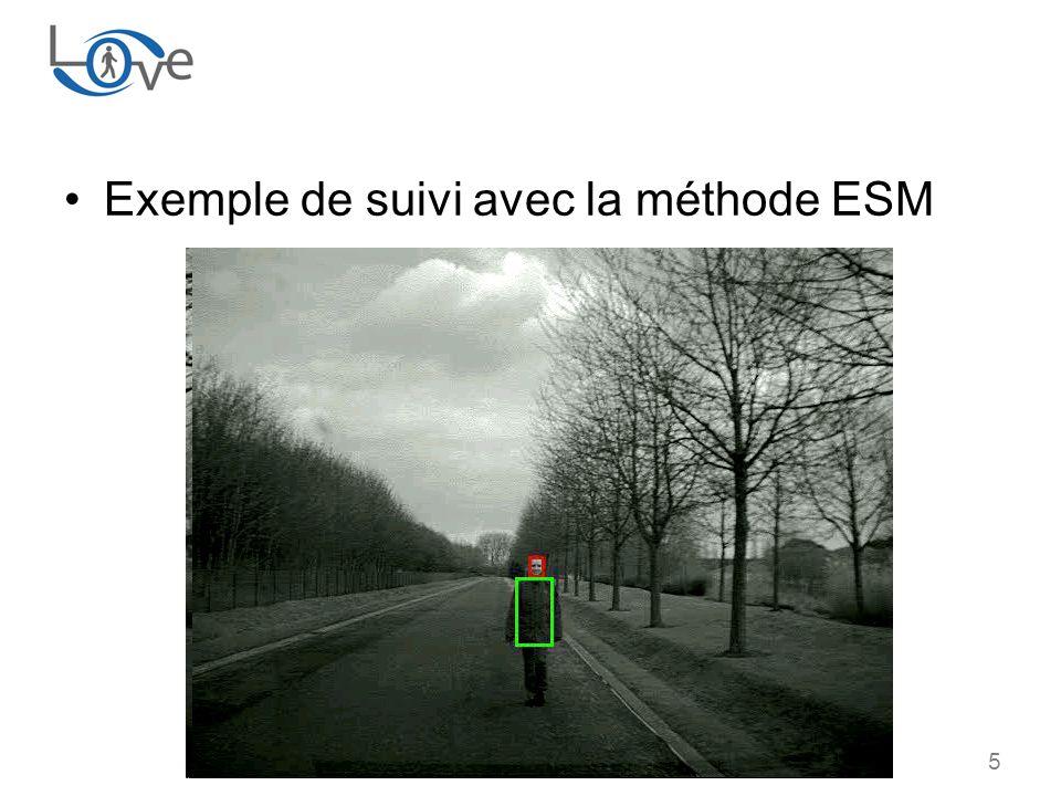 5 Exemple de suivi avec la méthode ESM