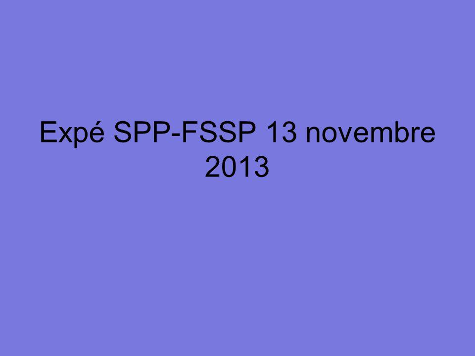 Expé SPP-FSSP 13 novembre 2013