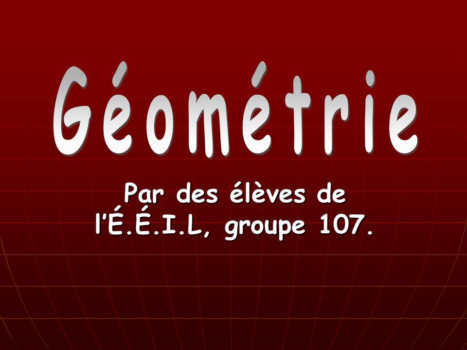 Par des élèves de lÉ.É.I.L, groupe 107.