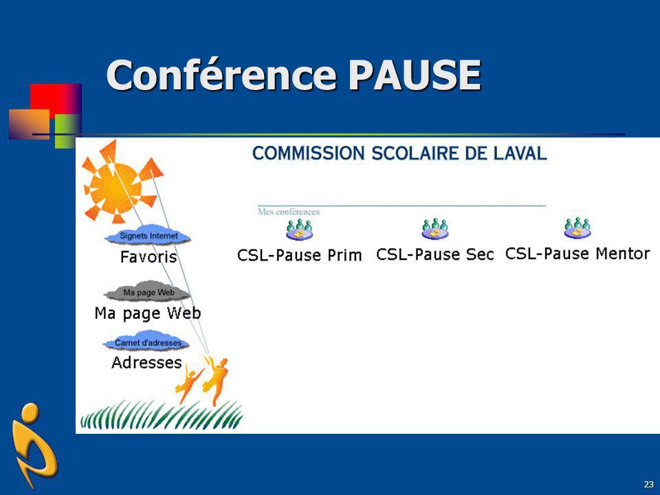 23 Conférence PAUSE