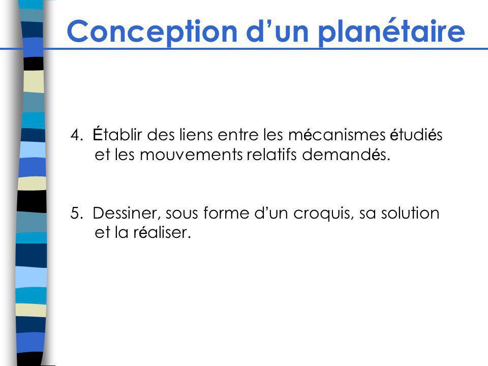 Conception dun planétaire 4.