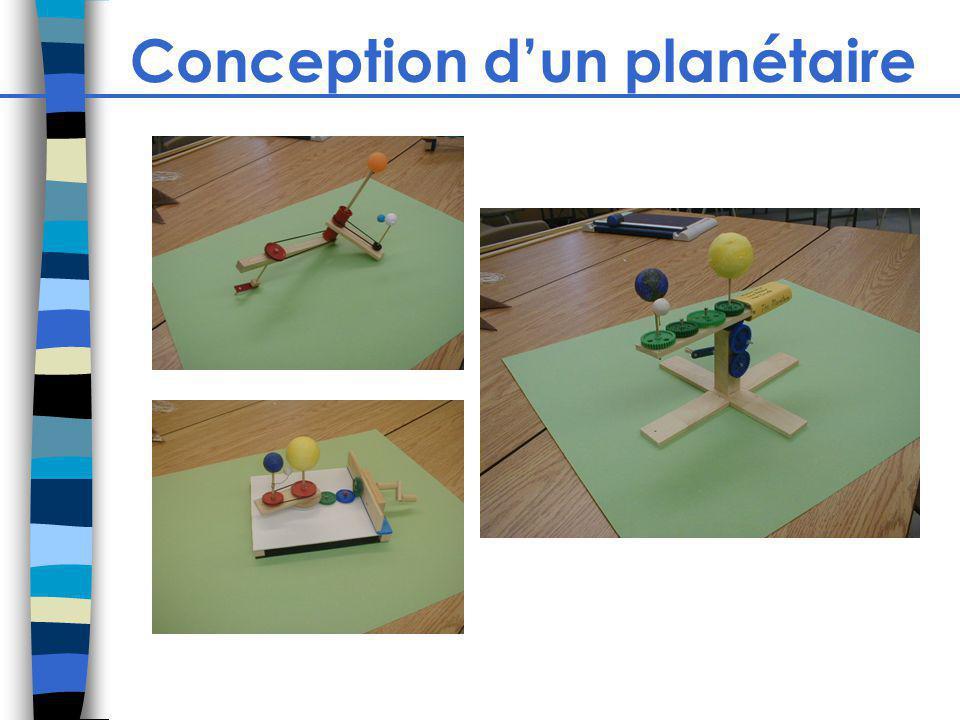Conception dun planétaire