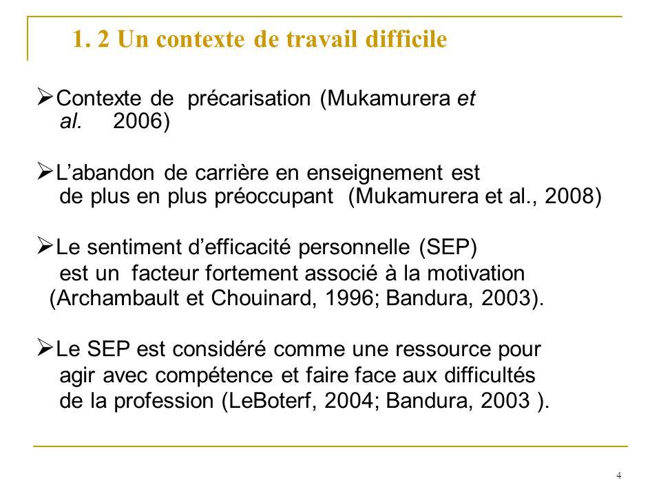 4 Contexte de précarisation (Mukamurera et al.