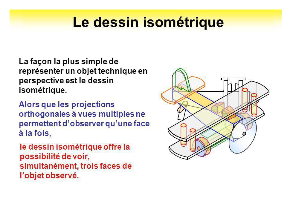 Le dessin isométrique en technologie Document de travail 20/08/07