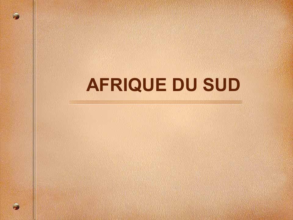 LAfrique du Sud dans le monde Québec Afrique du Sud