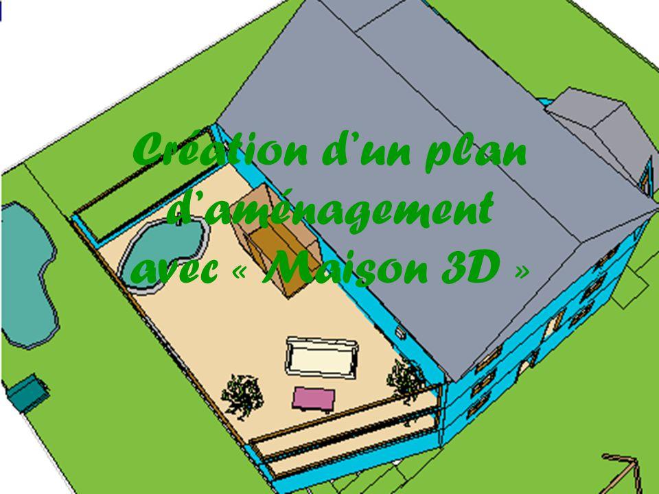 Création dun plan daménagement avec « Maison 3D »