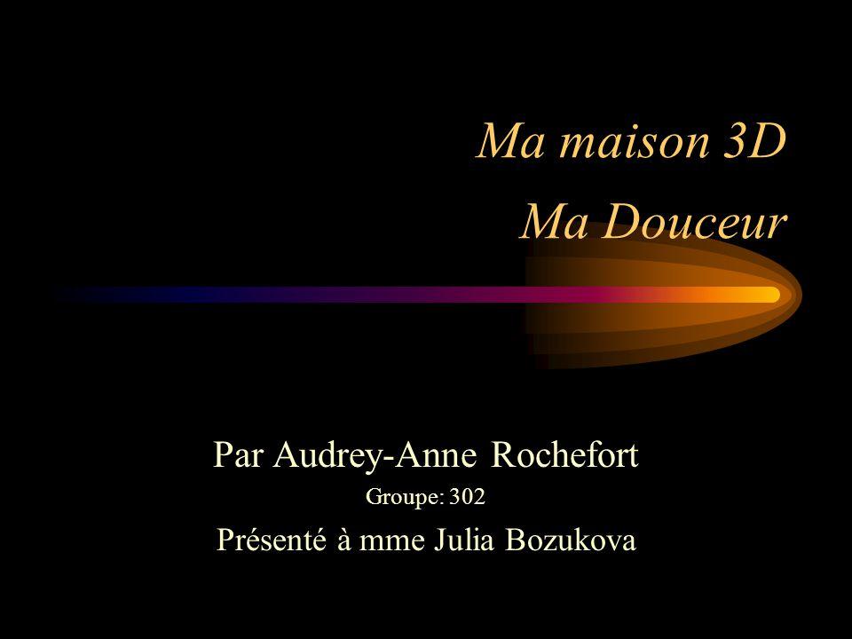 Merci à tous ceux qui ont regardé Ma Douceur Fait par Audrey-Anne Rochefort groupe 302